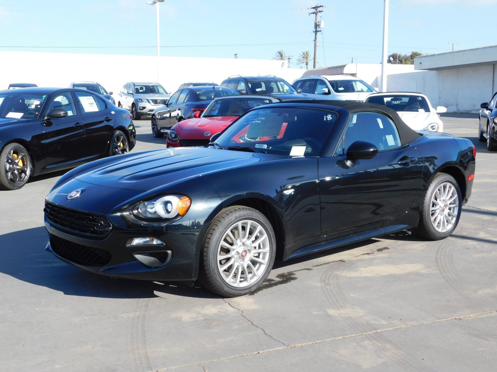 Fiat Spider For Sale >> New 2018 Fiat 124 Spider Classica For Sale Near San Diego In National City Ca Stock 14310
