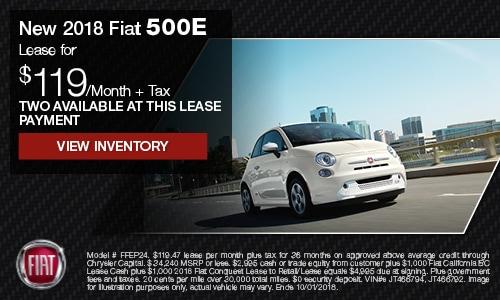 Fiat e lease