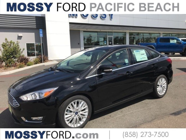 2017 Ford Focus Titanium Sedan for sale in San Diego at Mossy Ford