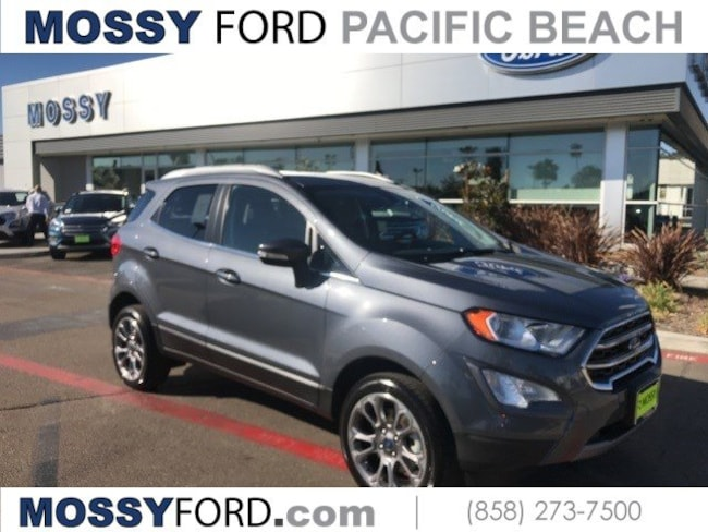 2018 Ford EcoSport Titanium SUV for sale in San Diego at Mossy Ford