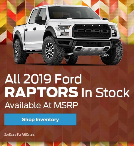 All 2019 Ford Raptors In Stock