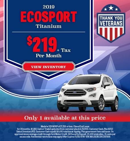 2019 Ecosport Titanium