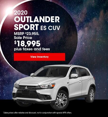 2020 Outlander Sport ES CUV