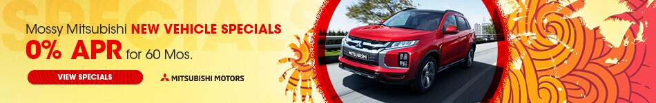 Mossy Mitsubishi New Vehicle Specials