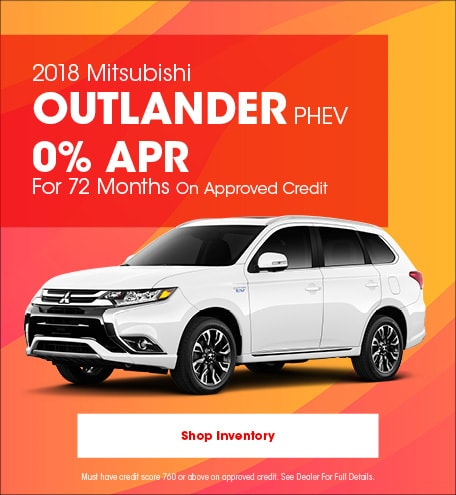 New Mitsubishi Finance and Lease Deals near San Diego, CA