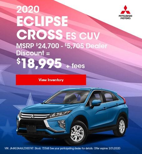 2020 Eclipse Cross ES CUV