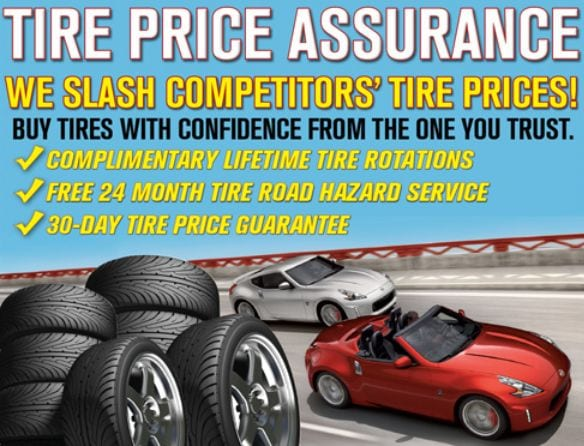 Mossy Nissan Chula Vista >> Mossy Nissan San Diego's Tire Prices Assurance - Mossy Nissan
