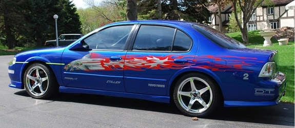 Af E C D A D B Ee A F A on 1994 Acura Integra Blue