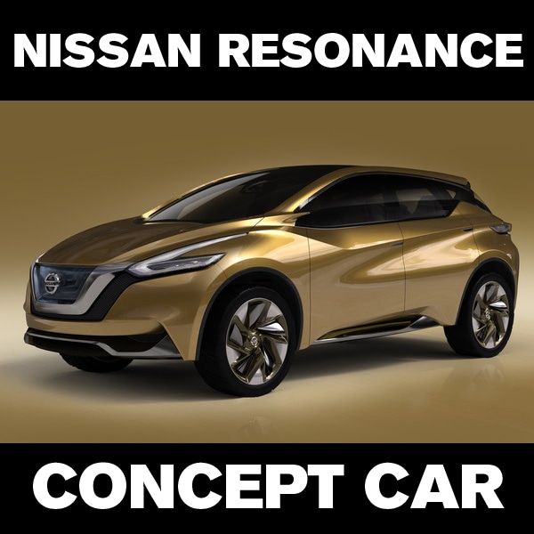 NISSAN CONCEPT CAR: The Nissan Resonance Signals The