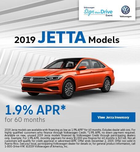 2019 Jetta Models