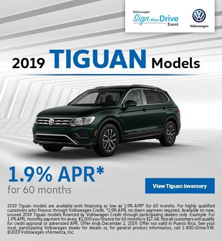 2019 Tiguan Models