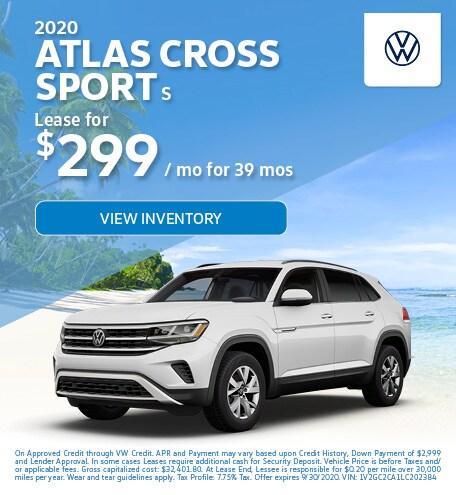 2020 Atlas Cross Sport S