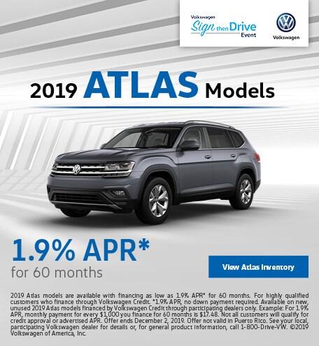 2019 Atlas Models