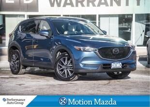 2018 Mazda CX-5 GT TECH AWD USED DEMO Leather  Navi+ Winter Tires SUV