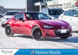 2018 Mazda MX-5 RF GT GRAND SPORT 6Sd USED DEMO Leather Navi Coupe