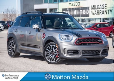 2018 MINI Countryman John Cooper Works Leather Roof + Winter Tires SUV