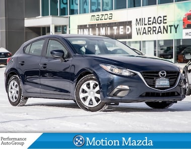 2016 Mazda Mazda3 Sport 6Spd CPO Bluetooth Rear View Camera+ Winter Tires Hatchback