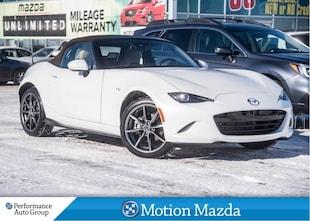 2019 Mazda MX-5 GT 6Spd USED DEMO Leather Navi Convertible