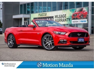 2016 Ford Mustang GT Premium Leather Navi Heated/Cooled Seats Convertible