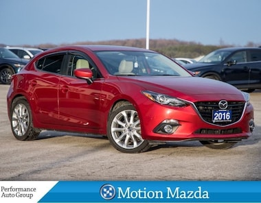 2016 Mazda Mazda3 Sport GT CPO Leather Roof Navi Hatchback