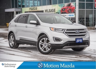 2018 Ford Edge Titanium AWD Leather Pano-roof Navi SUV