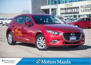 2018 Mazda Mazda3 Sport GS USED DEMO Heated Seats Blind Spot Monitoring Hatchback