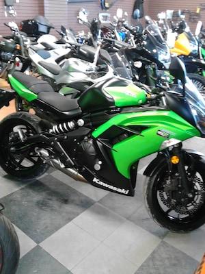2014 KAWASAKI Ninja 650 ABS POSSIBILITÉ D'UNE SEUL TAXE