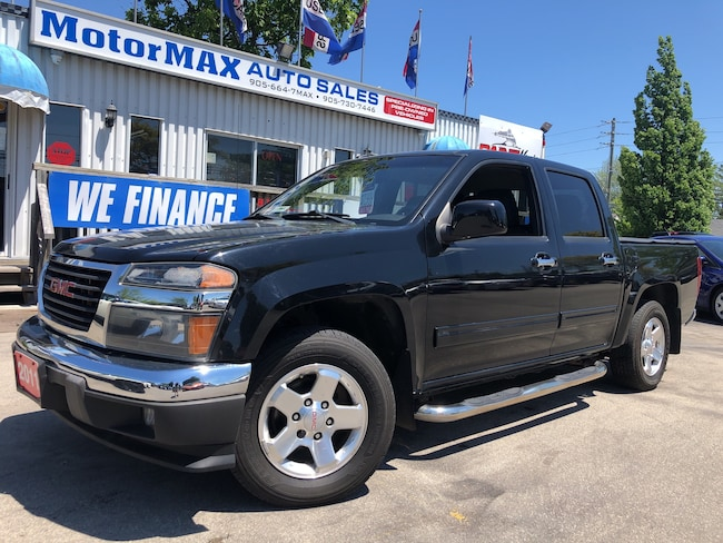 2011 GMC Canyon SLE- LEATHER-ON-STAR-WE FINANCE Truck Crew Cab