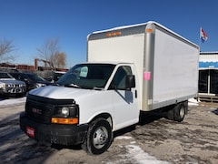 2014 GMC Savana 3500 16 FT BOX- 6.0L-WE FINANCE Truck