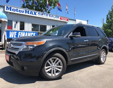 2013 Ford Explorer XLT-4X4- ACCIDENT FREE- WE FINANCE SUV
