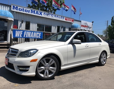 2012 Mercedes-Benz C-Class 300-AWD-ACCIDENT FREE- WE FINANCE Sedan