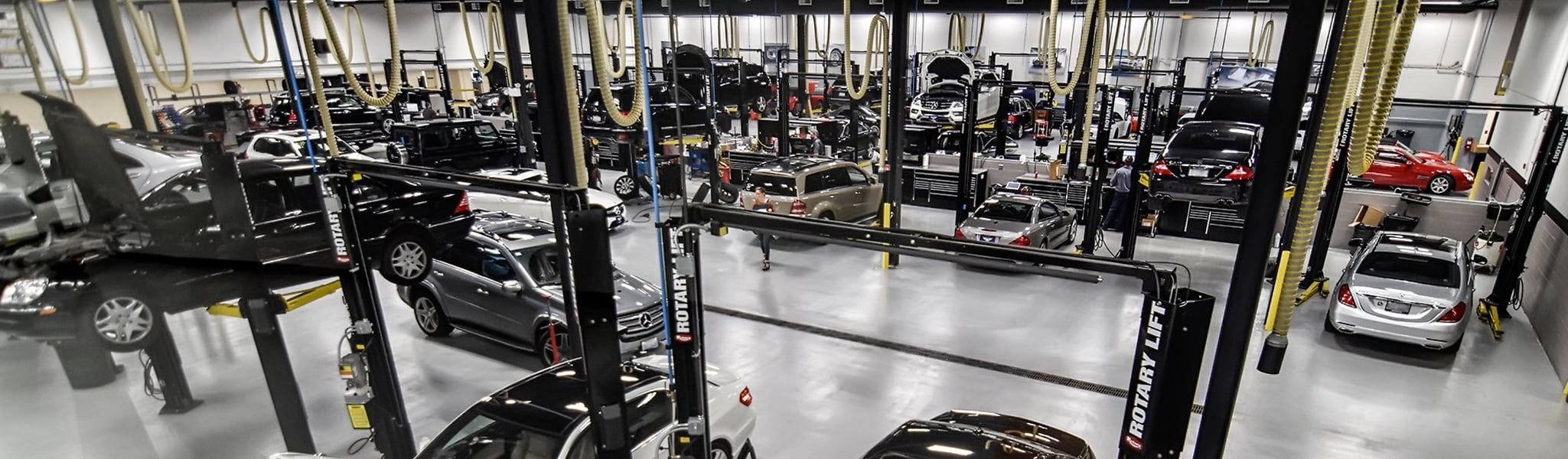 Motor werks barrington service for Mercedes benz of chicago service center chicago il
