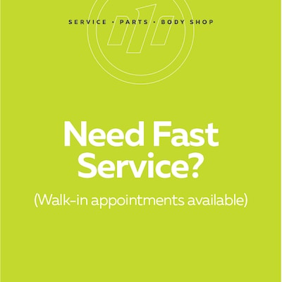 Need Fast Service?