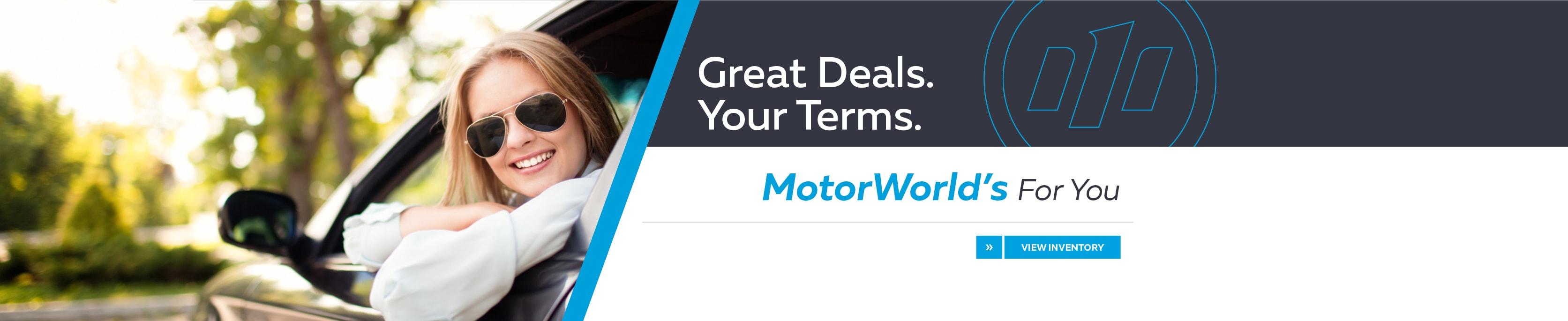 MotorWorld Mile e Autogroup