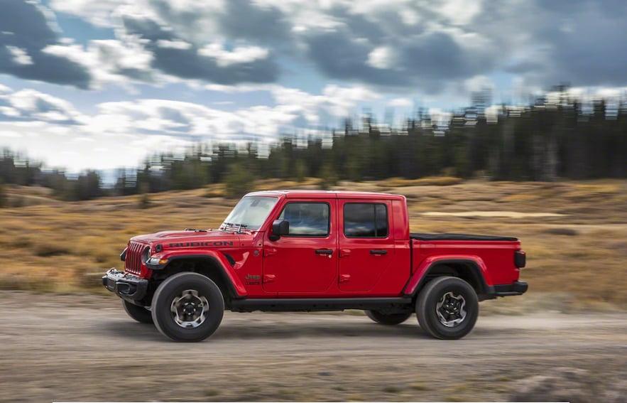 A New Jeep Pickup Truck With Mopar Parts Motorworld Chrysler Dodge Jeep Ram