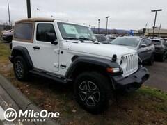 2020 Jeep Wrangler BLACK AND TAN 4X4 Sport Utility