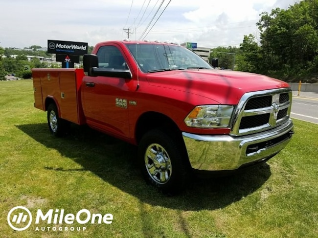 New 2018 Ram 3500 TRADESMAN CHASSIS REGULAR CAB 4X4 143.5 WB Regular Cab for sale in Baltimore, MD