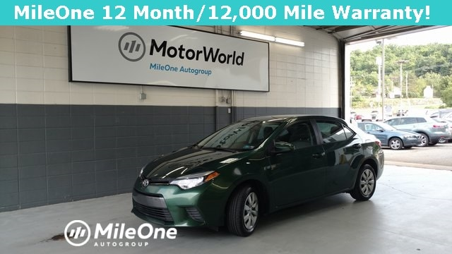 Corolla For Sale >> Used 2016 Toyota Corolla For Sale At Motorworld Mileone Autogroup