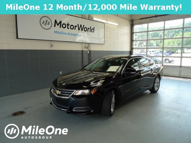 Used 2014 Chevrolet Impala For Sale at MotorWorld Acura
