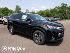 New 2019 Toyota Highlander Hybrid Limited Platinum SUV
