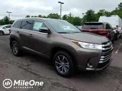 New 2019 Toyota Highlander XLE SUV