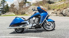 2016 VICTORY MOTORCYCLES Vision Touring blue fire