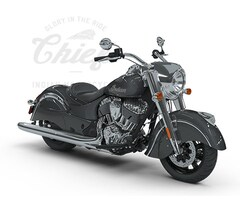 2018 Indian Motorcycles Chief Steel Gray