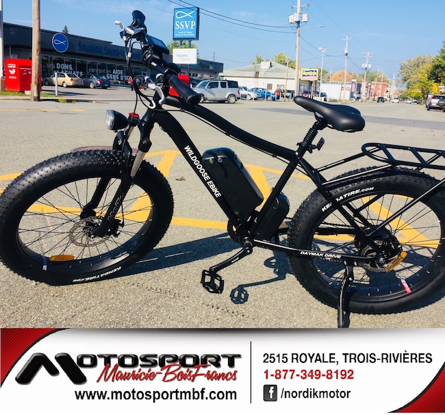2018 DAYMAK Other Vélo électrique Fat Bike Wildgoose!
