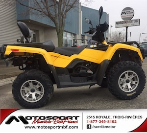 2009 CAN-AM Outlander 400 XT VTT 2 places version MAX!!!