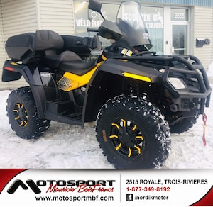 2012 CAN-AM Outlander 800 XT-P VTT 2 places
