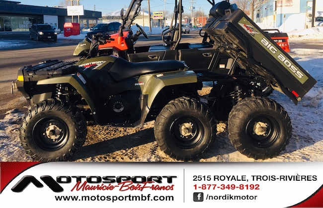 2009 POLARIS Big Boss 6x6 VTT BIG BOSS 6x6 vert avec benne!!!