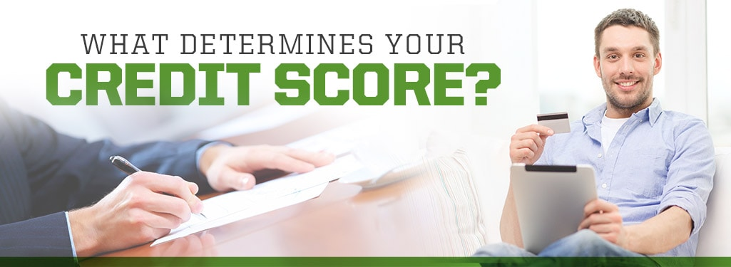 What Determines Your Credit Score