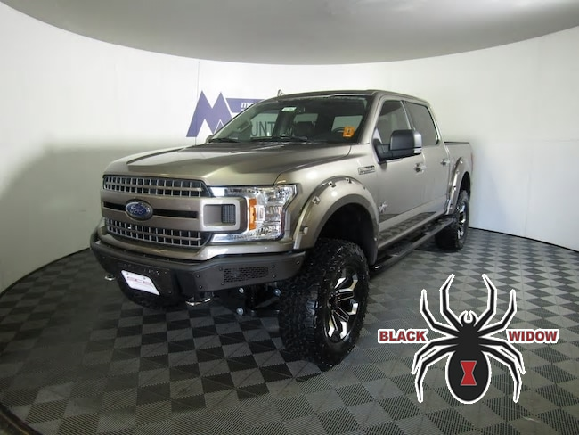 2018 Ford F-150 BLACK WIDOW Truck SuperCrew Cab