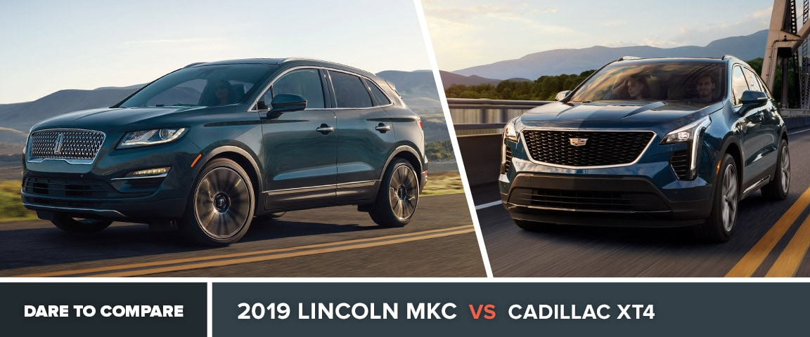 2019 Lincoln MKC vs. Cadillac XT4 in Beckley, WV